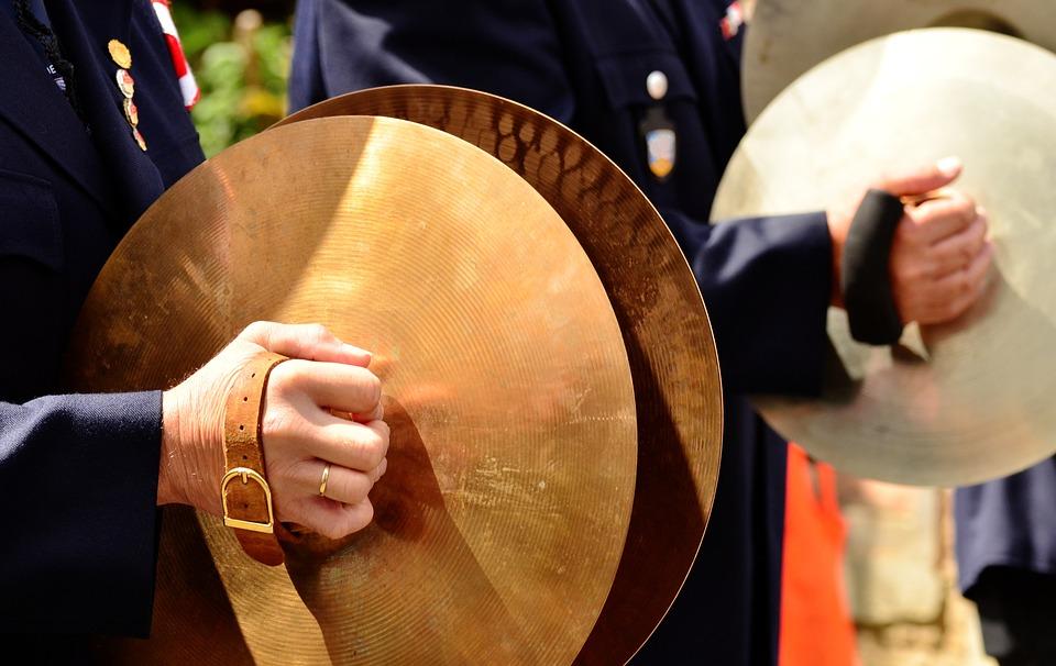 Marching, Pool, Brass, Music, Instrument, Sound, Rhythm