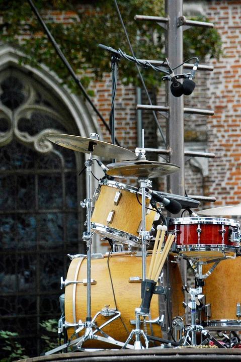 Music, Battery, Instrument, Drum, Concert, Sound