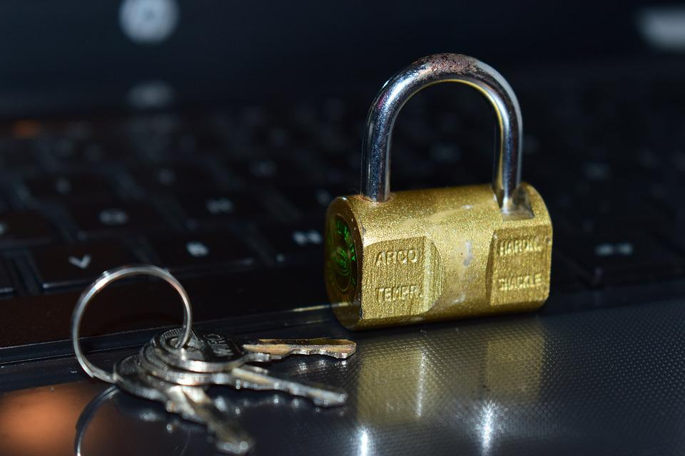 Security, Padlock, Keyboard, Insurance