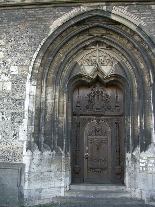 Input, Intake, Münster, Ulm, Southwest Corner, Gothic