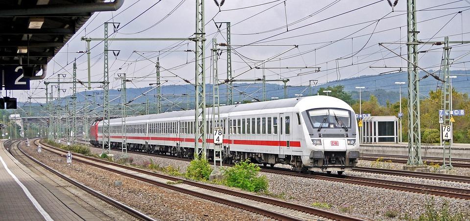 Intercity, Deutsche Bahn, Railway, Rail Traffic