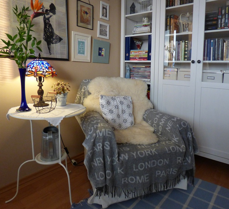 Comfortable Seating, Carrel, Armchair, Interior