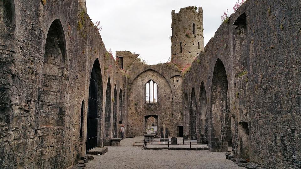 Church, Ruin, Interior, Architecture, Religion