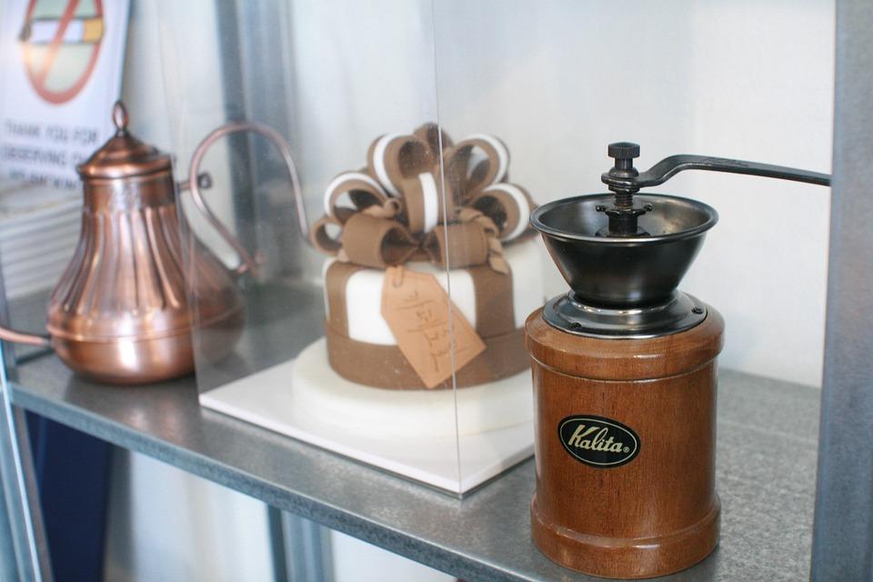 Coffee Mill, Sugar Cakes, Interior