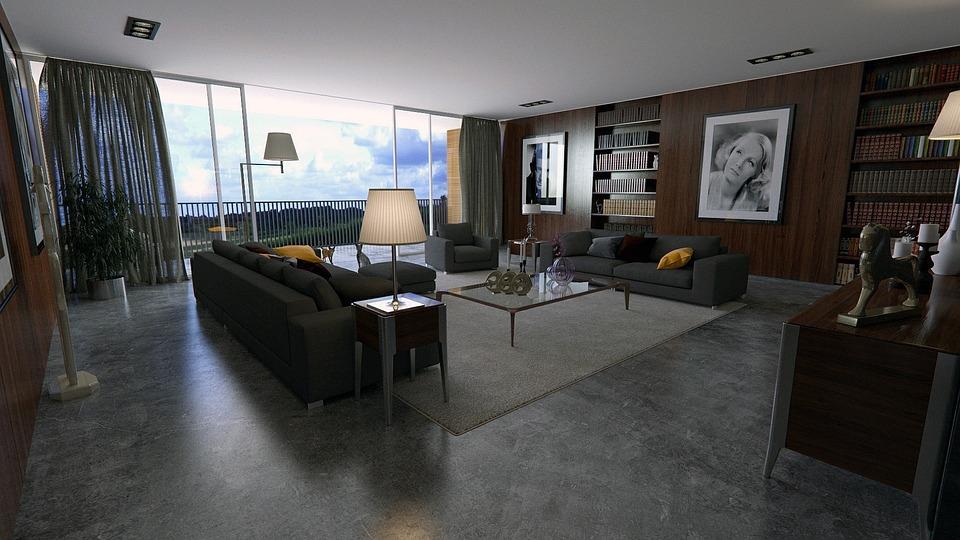 Room, Apartment, Interior Design, Design