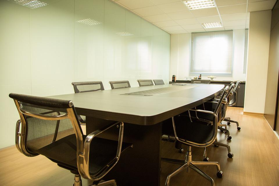 Table, Office, Work, Interior Design, Meeting Room