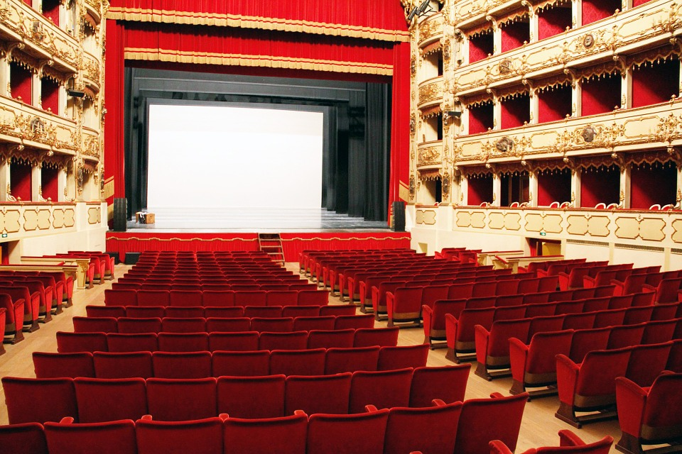 Teatro, Cinema, Milan, Interior Design, Armchairs, Show