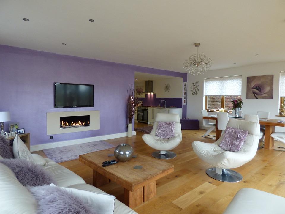 Living Room, Interior, Home, House