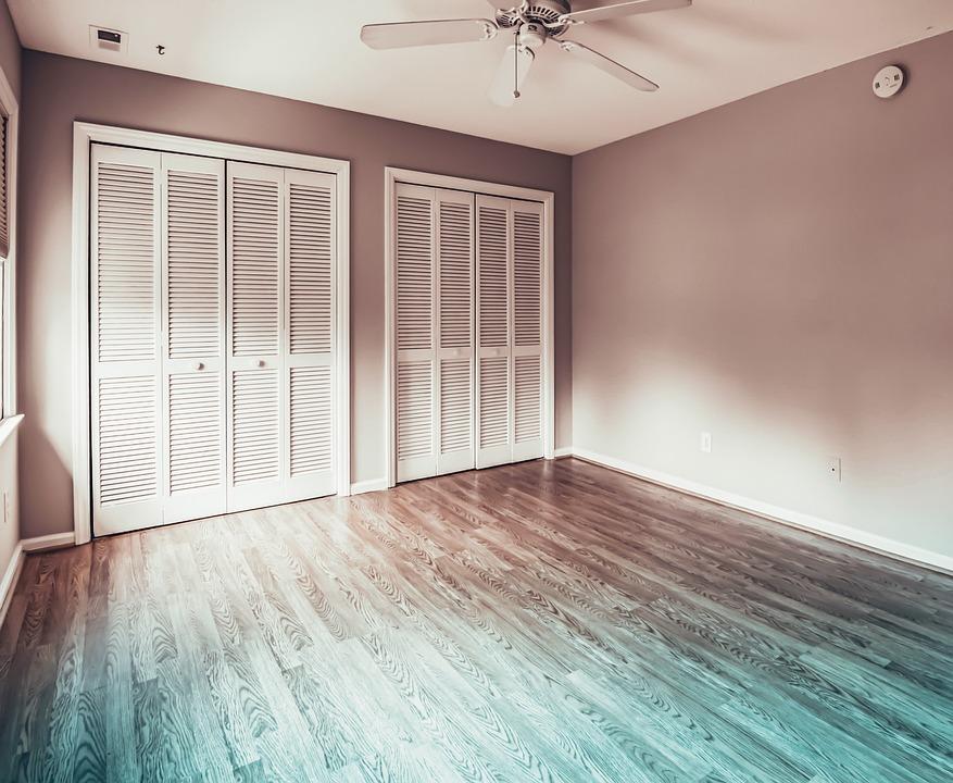 House, Interior, Parquet, Apartment, Real Estate