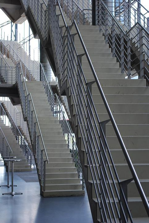 Cologne, Lanxess Arena, Interior, Stairs