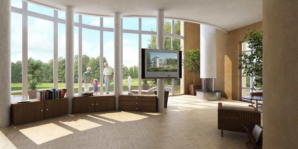 Interior, Villa, Rendering, Visualization, Architecture