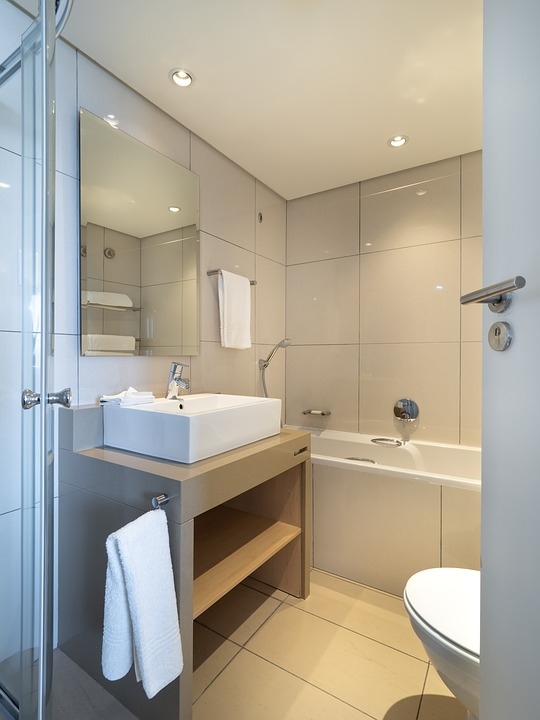 Free photo Interior Sink Toilet Hotel Bathroom Bath Home - Max Pixel