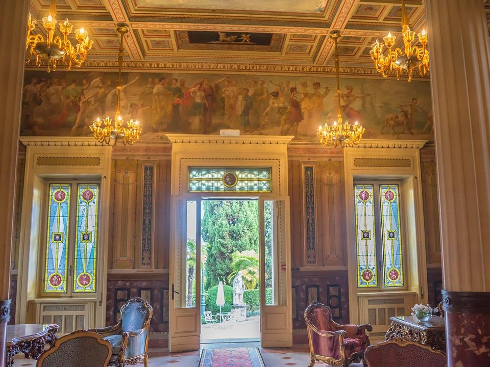 Free photo Interior Villa Cortine Elegant Victorian Decor - Max Pixel