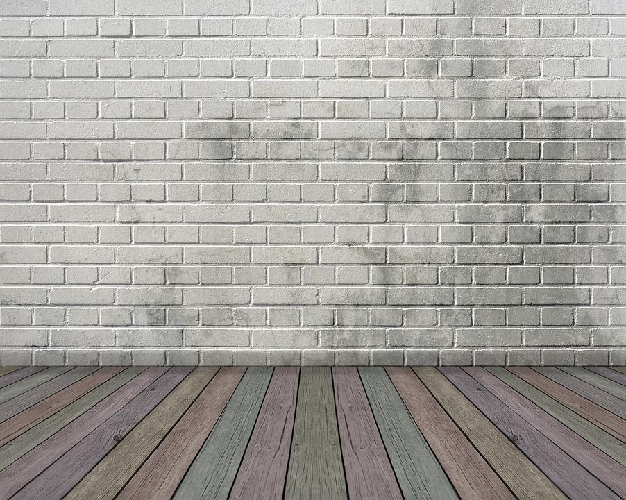 Space, Empty, Wood Floor, White, Interior, Tiles
