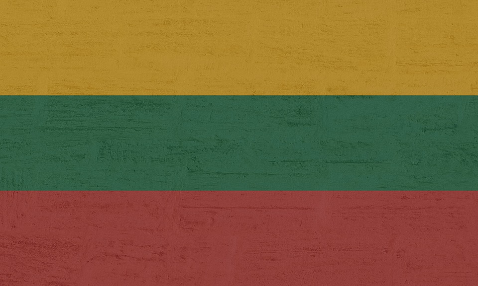 Lithuania, Flag, International
