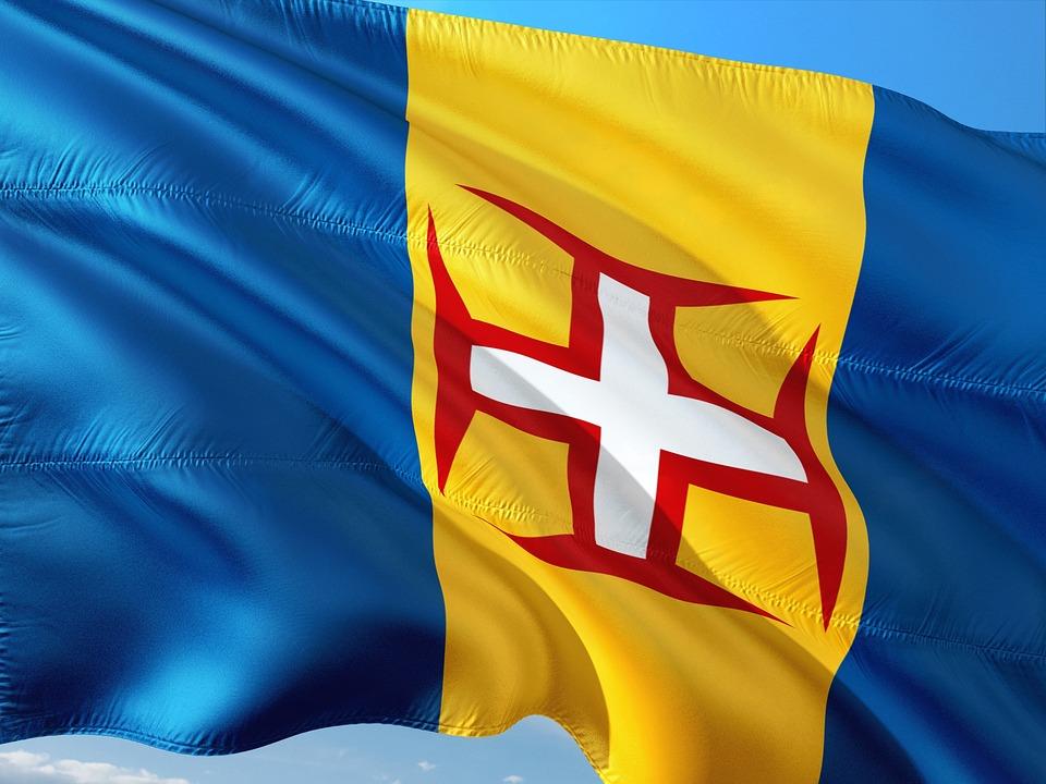 International, Flag, Madeira, Island, Portugal