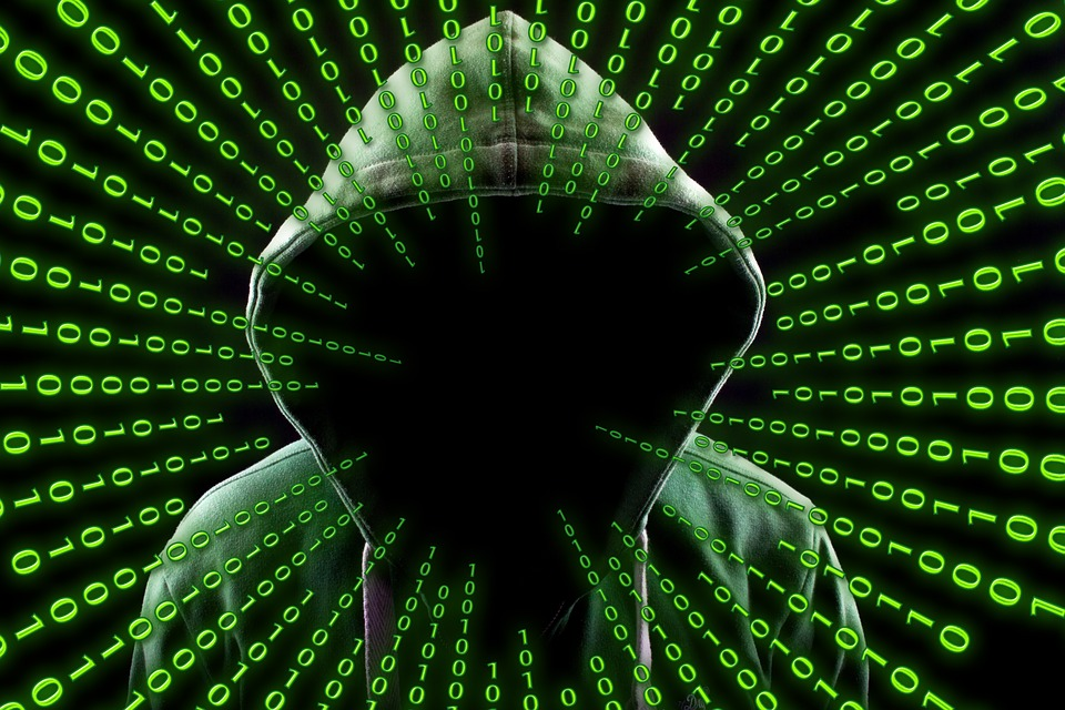 Hacker, Attack, Mask, Internet, Anonymous, Binary, One