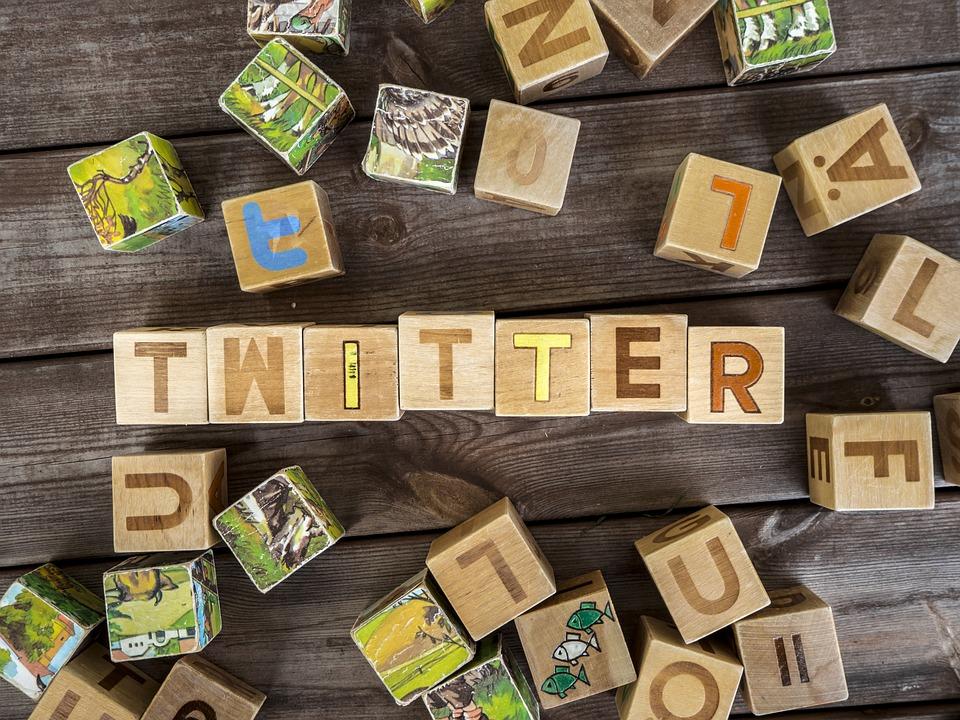 Twitter, Blocks, Logo, Internet, Social, Media, Like