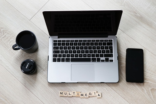 Multimedia, Mobile Phone, Laptop, Coffee Cup, Internet