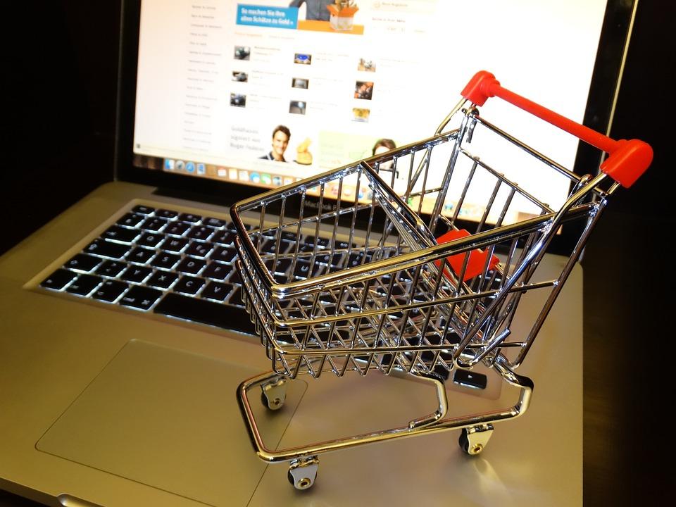 Purchasing, Shopping Cart, Internet, Online, Shopping