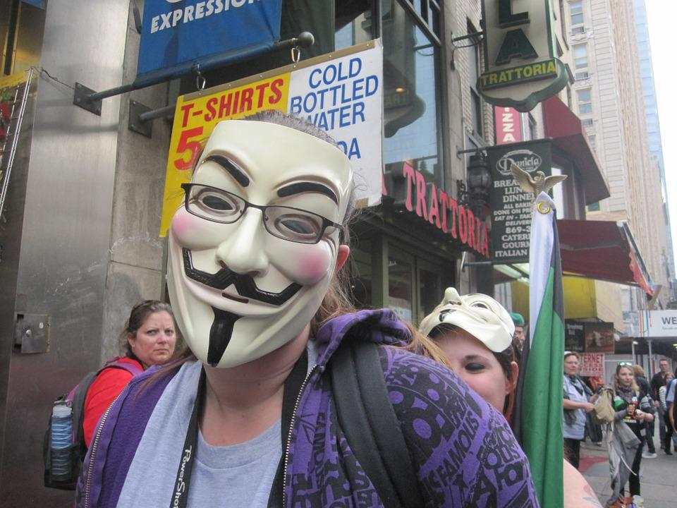 Anonymous, Mask, Protest, People, Internet, Hacker