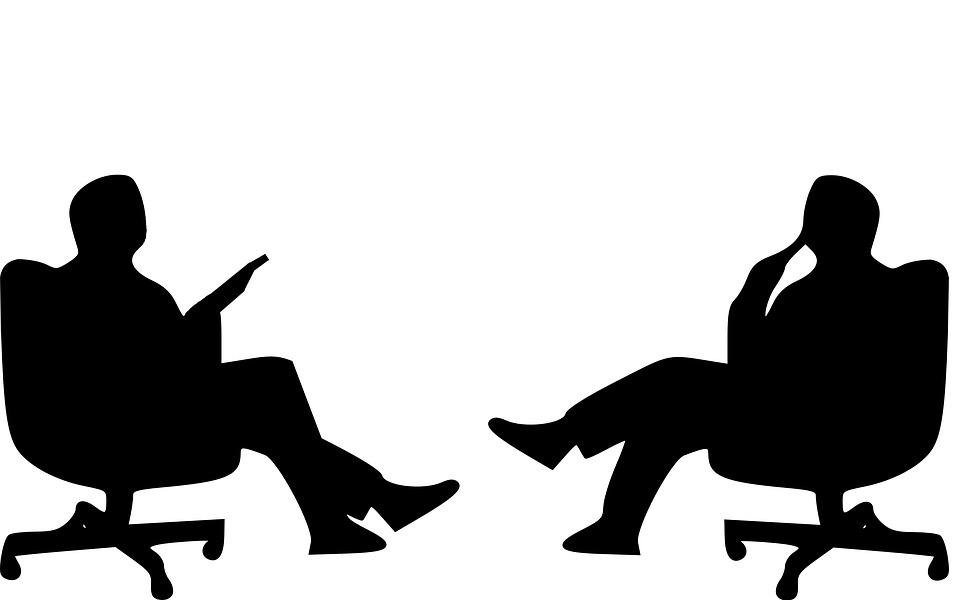 Interview, Conversation, Sitting, Job Interview