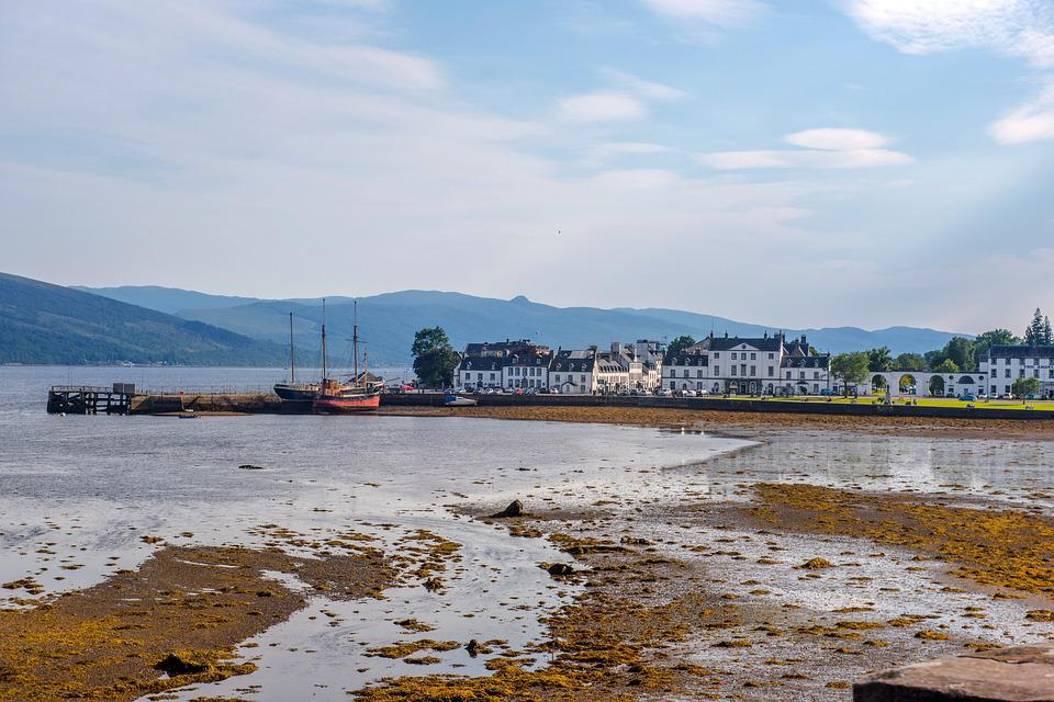 Inveraray Port, Hole, Scotland, City, Argyll, Landscape