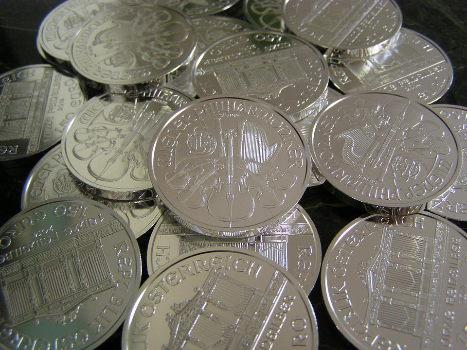 Money, Coins, Silver, Metallic, Investment, Wealth
