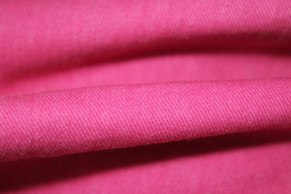 Folds, Pink, Cotton, Solid, Color, Bright, Invoice
