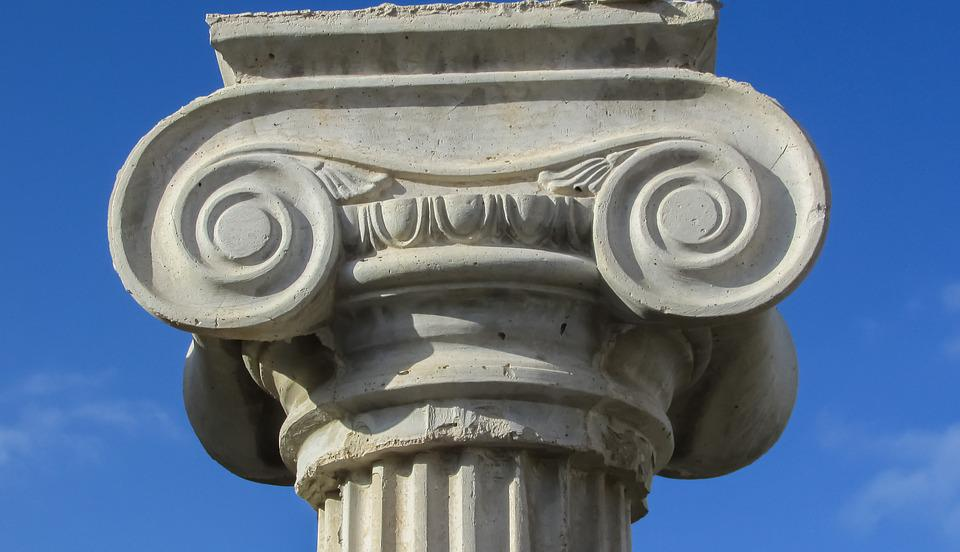 free photo ionic column architecture greek pillar capitals max pixel