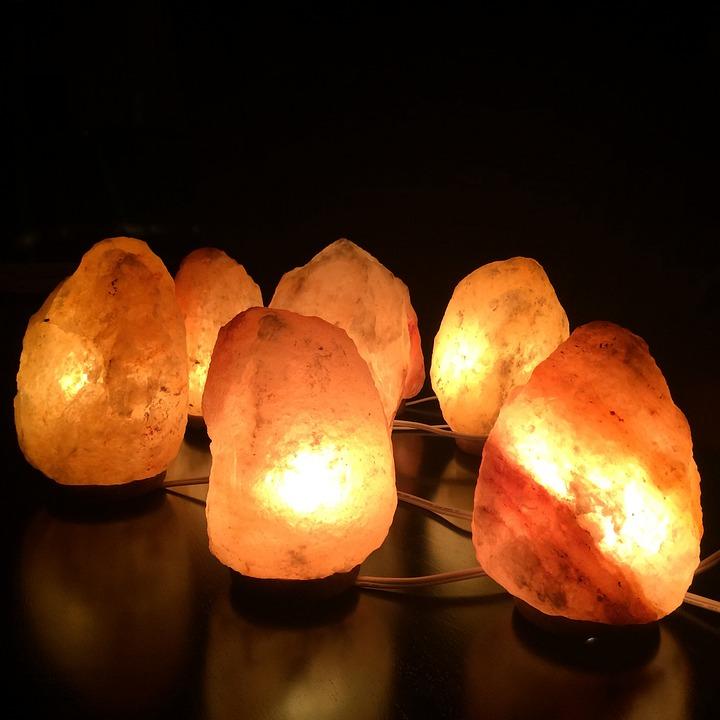 Salt Lamps Himalayan, Himalayan Salt Crystal, Ionizers