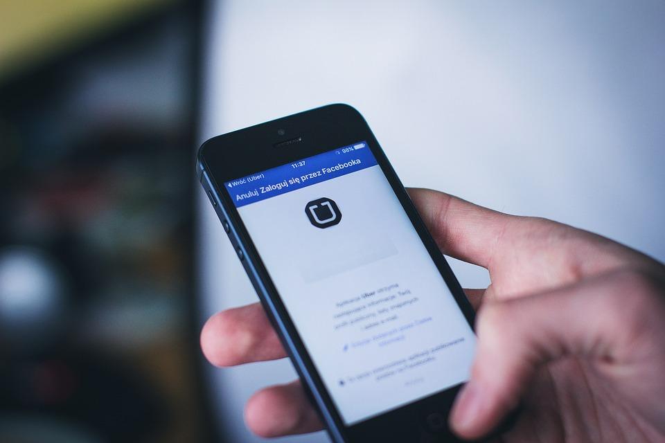 App, Apple, Facebook, Hand, Holding, Ios, Iphone, Login