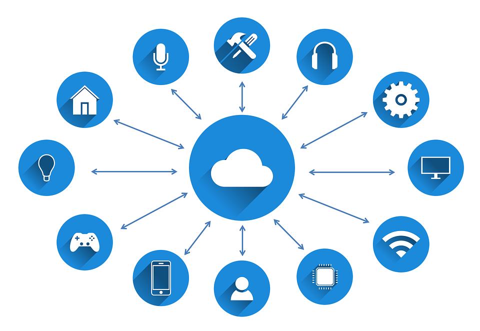 Iot, Internet Of Things, Network, Cloud Computing