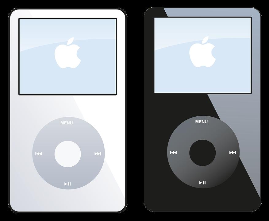 Ipod, Apple, Music, Media, Electronics, Audio, Players
