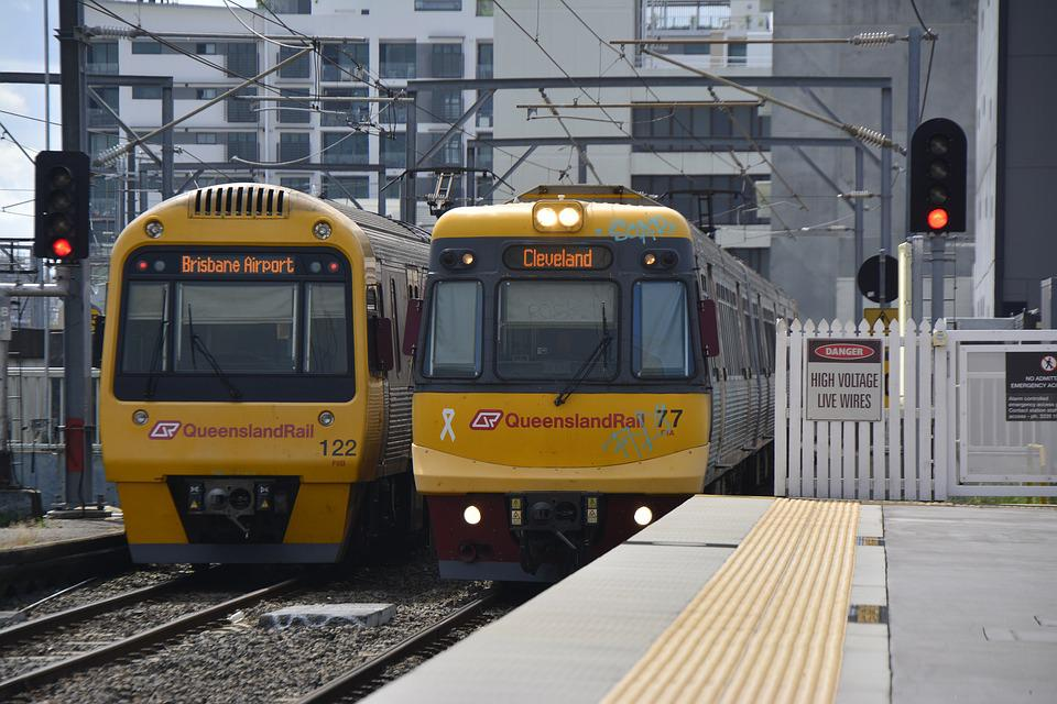 Brisbane, Rail, Train, Ipswich, Travel, City, Traffic
