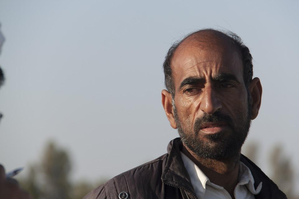 Elderly Man, Baloch Man, Iran, Balochistan, Iranian