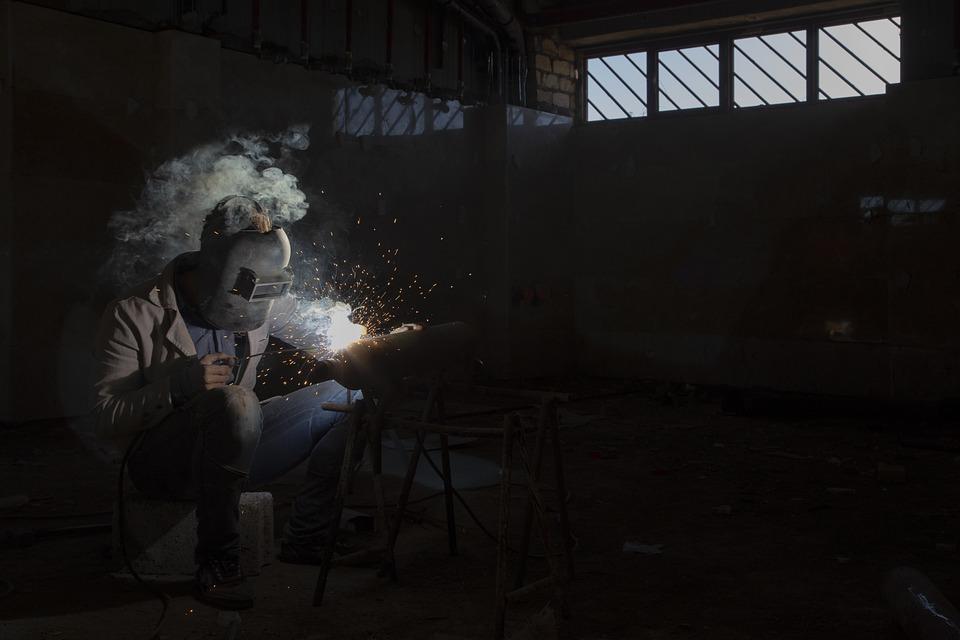 Job, Welding, People, Life, Lifestyle, Iran, Qom