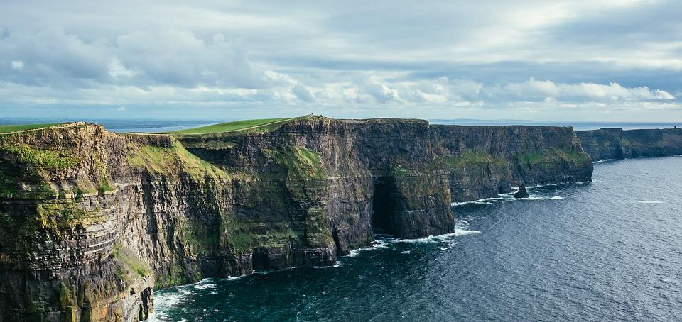 Cliff Of Moher, Ireland, Cliffs, Coast, Nature, Rock