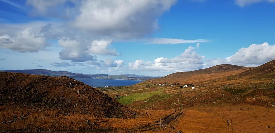 The Ring Of Kerry, Ireland, Nature, Landscape, Coast