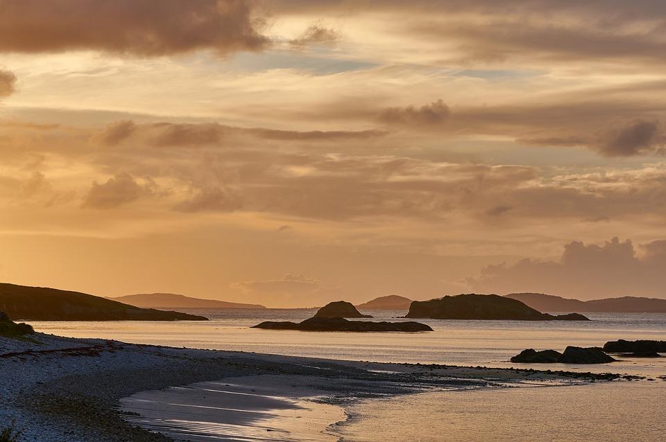 Ireland, Coast, Sea, Landscape, Water, Nature, Ocean