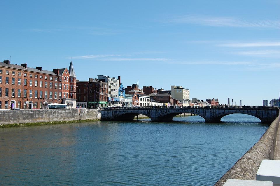 Cork City, River Lee, Ireland