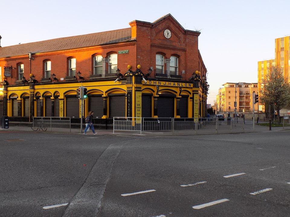 Dublin, Street, Building, Ireland