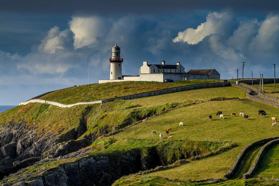 Lighthouse, Ireland, Galley Head
