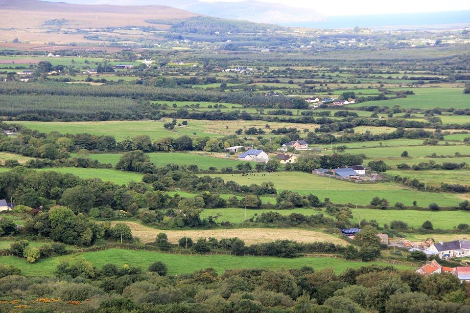 Irish, Ireland, Countryside, Landscape, Scenic, Country