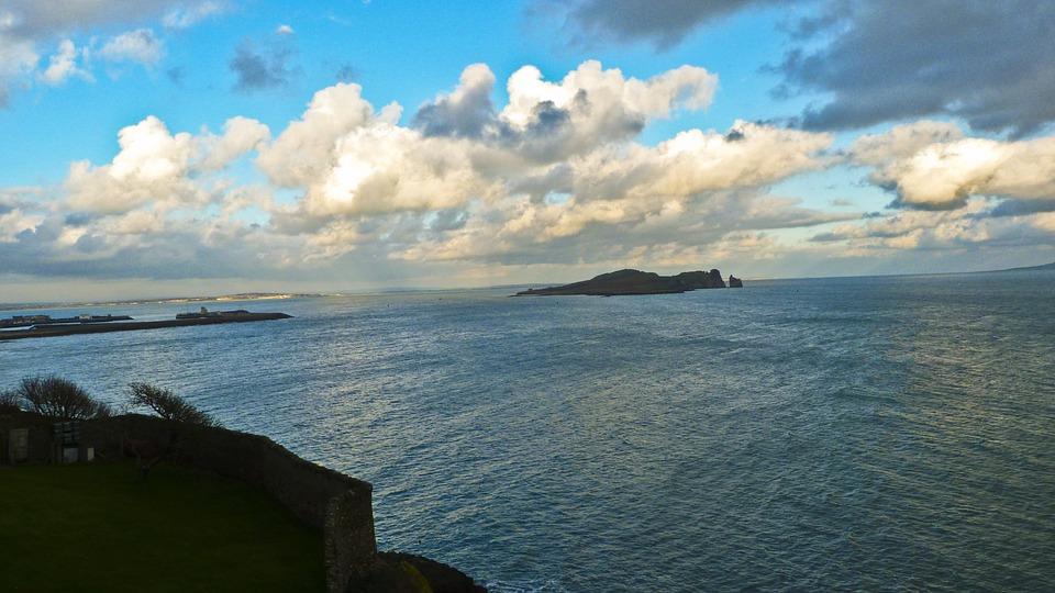 Ireland, Sea, Sky