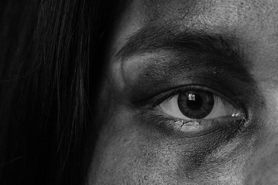 Eyes, Fine Arts, Black And White, Iris