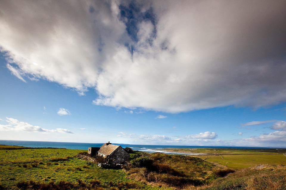 Cloud, Irish, Coastline, Nature, Landscape, Ireland