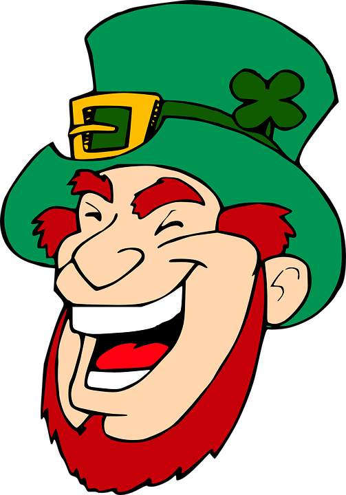 Leprechaun, Laughing, Face, Famous-people, Irish, Man
