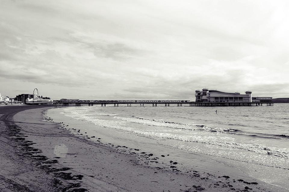 Britannia, Irish Sea, Weston Super Mare, Amusement Pier