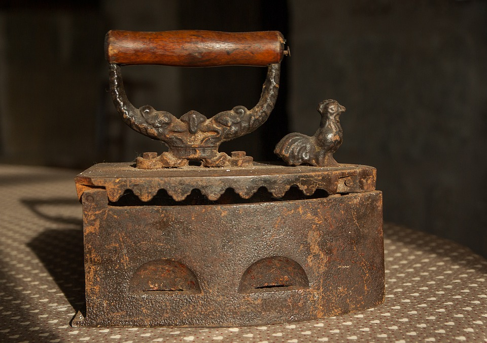Flea Market, Iron, Antique, Ironing